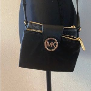 Michael Kors Black crossbody purse